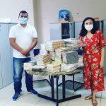 Imprensa Oficial do Estado doa 230 livros do Portal do Conhecimento para Portel, no Marajó